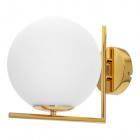 Wall Lamp AIMEE 1xE27 L.20xW.27,5xH.22cm Gold