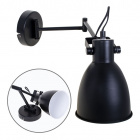 Wall Lamp ALEXIS articulated 1xE27 L.50xH.20xD.13,5cm Black