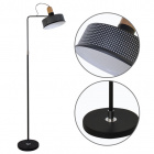 Floor Lamp ANUSCA 1xE27 L.25xW.53xH.160cm Black