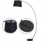 Floor Lamp ELOISA 1xE27 L.40xW.110xH.185cm Black