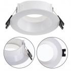 Frame for Downlight ONIRO round H.3,5xD.8,5cm Polycarbonate (PC) White