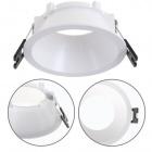 Frame for Downlight ONIRO round H.3,6xD.8,5cm Polycarbonate (PC) White