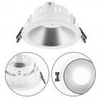Frame for Downlight ONIRO round H.3,9xD.8,8cm Polycarbonate (PC) Silver