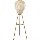 Floor Lamp ANAÍS 1xE27 H.143xD.50cm Cognac