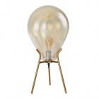 Table Lamp ANAÍS 1xE27 H.60xD.30cm Cognac