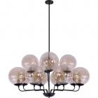 Ceiling Lamp ARAMIS 12xE27 H.Reg.xD.110cm Cognac