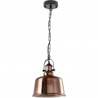 Pendant Light LILA 1xE27 H.Reg.xD.30cm Copper