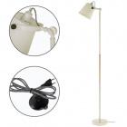 Floor Lamp MORGANA 1xE14 H.150xD.33cm White