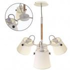 Ceiling Lamp MORGANA 3xE14 H.Reg.xD.60cm White