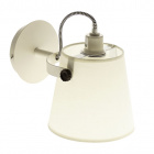 Wall Lamp MORGANA 1xE14 L.15,5xW.26,5xH.19cm White