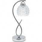 Table Lamp TIJUANA 1xE14 L.13xW.16xH.39cm Chrome