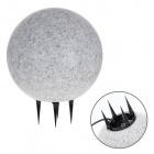 Spike Light Ball BONINA IP65 1xE27 H.37xD.30cm Granite