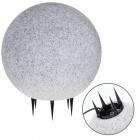 Spike Light Ball BONINA IP65 1xE27 H.46xD.40cm Granite