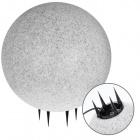 Spike Light Ball BONINA IP65 1xE27 H.57xD.50cm Granite