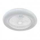 Ceiling Fan RAKI 180W LED 6400lm H.19xD.55cm White