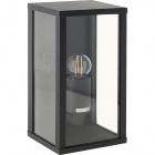 Wall Lamp NOZELO IP44 1xE27 L.14xW.11,5xH.26cm Aluminium+Glass Anthracite