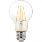 Light Bulb E27 (thick) GLS (standard) CLASSIC LED 4W 2700K 470lm Transparent-A++