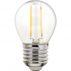 Light Bulb E27 (thick) Ball CLASSIC LED 2W 4000K 250lm Transparent-A++