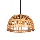 Pendent bamboo lamp FARGESIA 40cm 1xE27 hazelnut