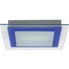 Plafond BELÉM square 1xR7s 118mm L.29xW.29xH.4cm Blue