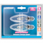 Light Bulb 2x E14 (thin) Candle Twisted ENERGY SAVER Dimmable 28W 3000K 310lm -D