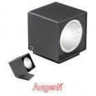 Wall Lamp KUBO IP66 1x6W LED 660lm 4000K L.6,2xW.6,2xH.7,2cm Anthracite