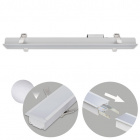 Recessed Linear Light LINEX B2 60cm 1x20W LED 1600lm 3000K 110° L.61,5xW.6,5xH.3,5cm Aluminium