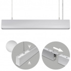 Suspending Light LINEX B2 60cm 1x20W LED+1x8W LED 1600lm 4000K 110° L.57xW.4xH.Reg.cm Aluminium
