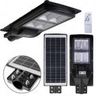 Solar Wall Lamp Solar Street Light with sensor IP65 1x200W LED 1300lm 6400K L.25xW.63xH.7cm Black