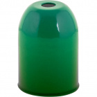 E27 cover for lampholder metal green