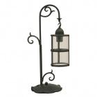 Table Lamp BENEVENTO 1xE27 L.18,5xW.22xH.50cm Black