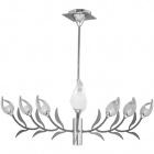 Ceiling Lamp ALTAMURA 9xG9 H.Reg.xD.95cm Brown/Chrome