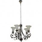 Ceiling Lamp MONZA 5xE14 H.Reg.xD.66cm Antique Brass