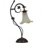 Table Lamp MONZA 1xE14 L.17xW.30xH.53cm Antique Brass