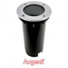 Ground Recessed Lamp ORMA round IP67 1xGU10 H.0,3xD.10cm Stainless Steel