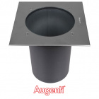 Ground Recessed Lamp PLATHO square IP65 1xE27 L.27,5xW.27,5xH.26,4cm Stainless Steel