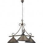 Ceiling Lamp PISA 3xE27 H.Reg.xD.74cm Antique Brass