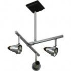 Ceiling Lamp TIAGO 3xGU10 L.34xW.29xH.43cm Wengue/Chrome