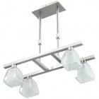 Ceiling Lamp AUGUSTA 4xG9 L.41xW.20xH.Reg.cm Satin Nickel
