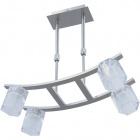 Ceiling Lamp MANUELA 4xG9 L.41xW.21,5xH.Reg.cm Satin Nickel