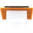 Wall Lamp REBECA square 1xG9 L.16xW.14xH.8cm Orange