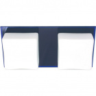 Wall Lamp REBECA 2xG9 L.29xW.14xH.8cm Blue