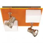 Plafond REBECA square 2xG9+2x50WGU10 L.29xW.29xH.13cm Orange