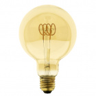 Light Bulb E27 (thick) Globe CLASSIC DECOLED Dimmable D95 5W 1800K 280lm Amber-A