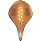 Light Bulb E27 (thick) CLASSIC DECOLED Dimmable D200 4W 1800K 300lm Amber-A+