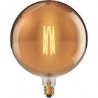 Light Bulb E40 Globe CLASSIC DECOLED Dimmable D380 8W 1800K 630lm Amber-A