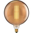 Light Bulb E40 Globe CLASSIC DECOLED Dimmable D300 8W 1800K 630lm Amber-A+