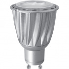 Light Bulb GU10 HIGH POWER LED 8W 4000K 1400cd 38°Grey-A