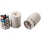 Lampholder G24 Q1 4PIN 13W, 2 pieces, M10, in plastic