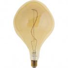 Light Bulb E27 (thick) JADA LED 5W 2200K 250lm Amber-A++